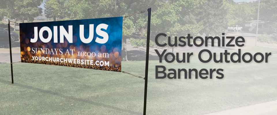 Outdoor Vinyl Church Banners