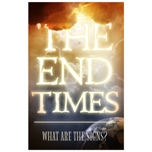 End Times Signs Postcard