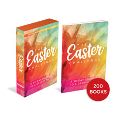 The Easter Challenge Kit and 200 Book Bundle