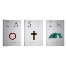 Easter Icon Triptych