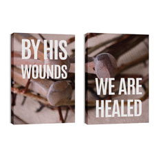 By His Wounds Pair