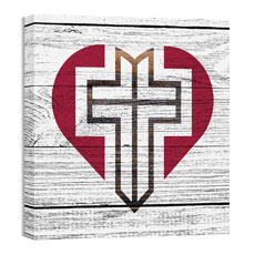 Mod Heart Cross