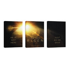 Risen Light Tomb Triptych