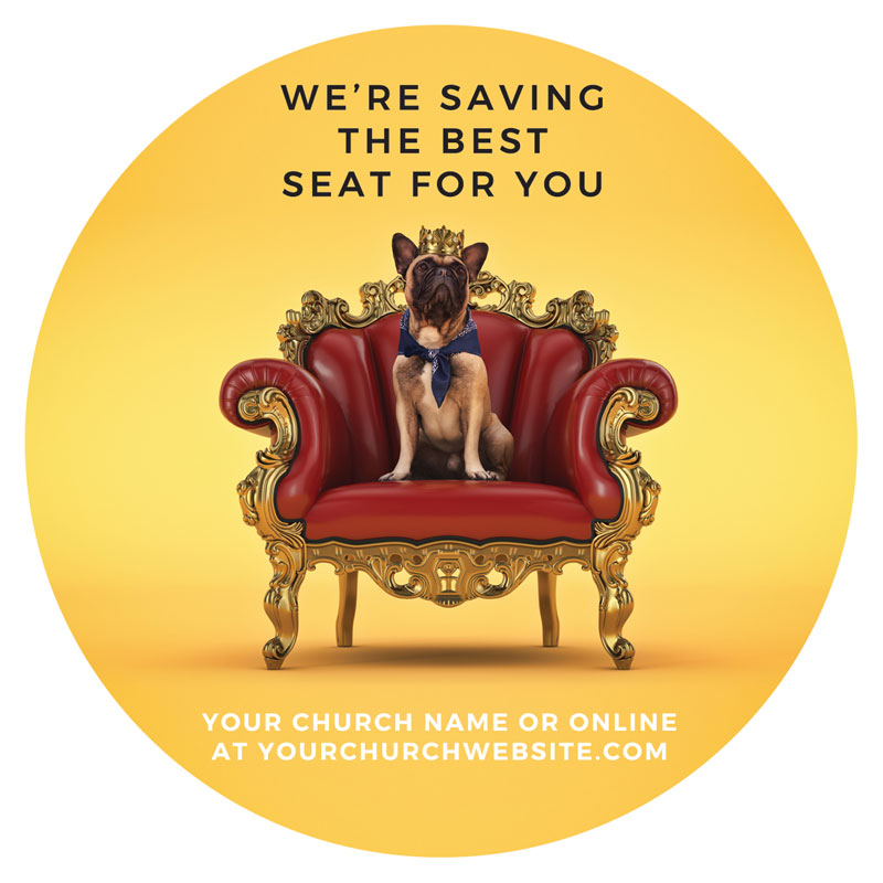 InviteCards, Summer - General, Saving A Seat For You, 4 Circle