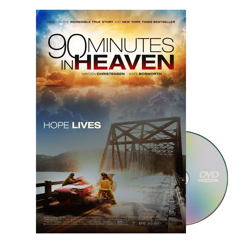 Movie License Packages, Films, 90 Minutes in Heaven DVD License Standard, 100 - 1,000 people  (Standard)