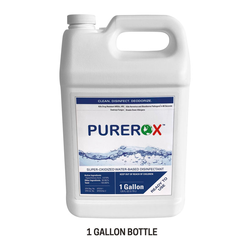 Safety Products, Safety, Purerox Covid-19 Disinfectant for Fogger in 1 Gallon Container (Single)