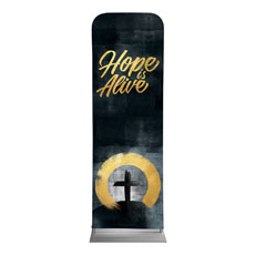 Hope Is Alive Gold Banner