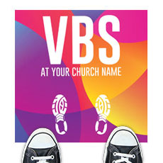 Curved Colors VBS Feet