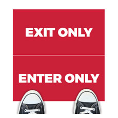 Red Enter Exit