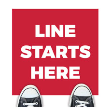 Red Line Starts Here