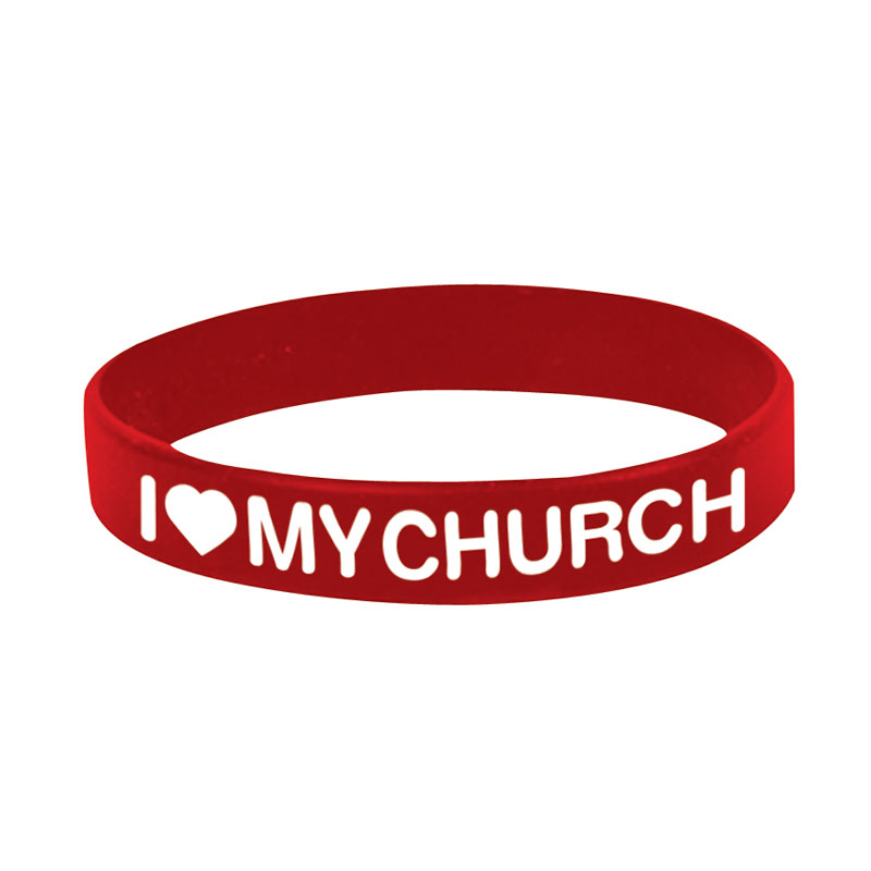 Other, New Years, I Love My Church Wristband
