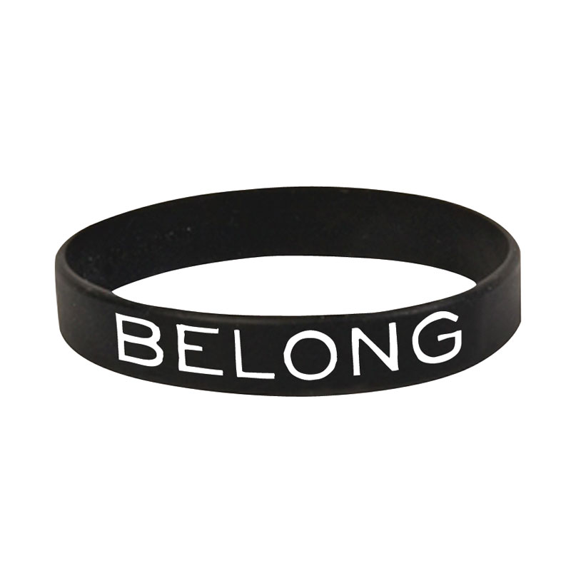 Other, Back To Church Sunday, BTCS: Belong Silicone Wristband