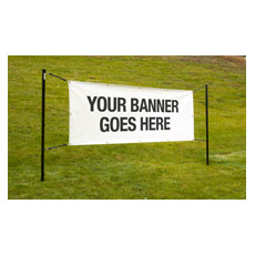 Outdoor Banner Display System
