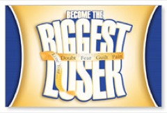 Become Biggest Loser Postcard
