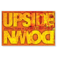 Upside Down Hope Postcard