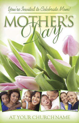Church Postcards, Mother's Day, Celebrate Mother, 5.5 X 8.5