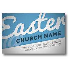 Blue White Easter At