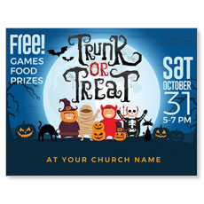 Trunk or Treat Kids