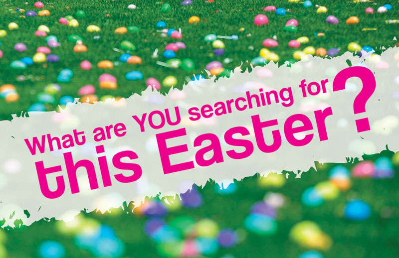 InviteCards, You're Invited, UMC Easter Search, 4.25 x 2.75