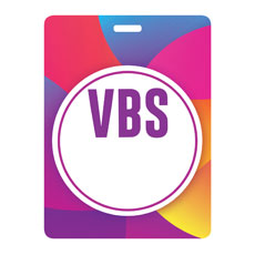 Curved Colors VBS Blank