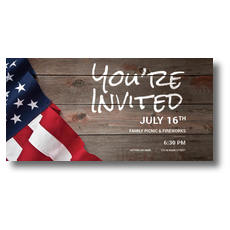 American Flag Invited