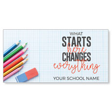 Starts Here Changes