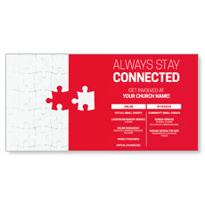 Red Connected Puzzle