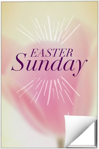 Wall Art, Easter, Traditions Easter Sunday, 24 x 36