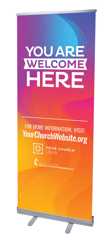 Banners, UMC You Are Welcome, 2'7 x 6'7