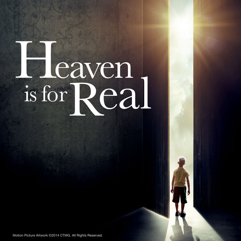 Banners, Heaven Is For Real, Heaven is Real Movie, 3' x 3'