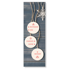 Wood Ornaments Directional
