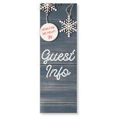 Wood Ornaments Guest Info