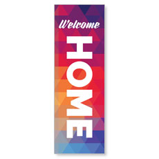 Geometric Bold Welcome Home