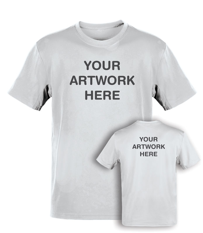 T-Shirts, Custom T-shirt Your 1 Color Art Small, Small