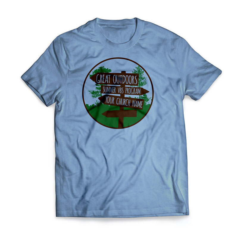 T-Shirts, Summer - General, Great Outdoors - Large, Large (Unisex)