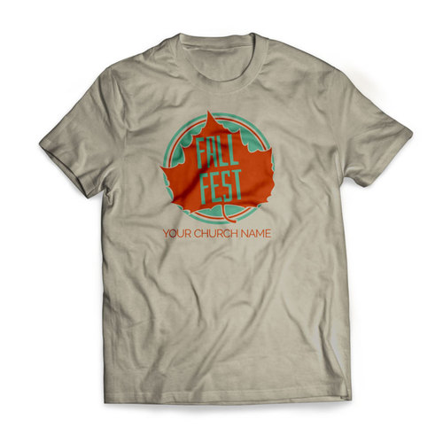 T-Shirts, Fall - General, Fall Fest Leaf - Large, Large (Unisex)